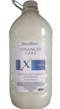 Natumaxx Shampoo Neutro Advanced Care 5 Litros