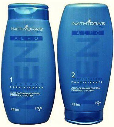 Kit Shampoo  e Condicionador Fortalecimento Linha MEN Nathidra´s MSA