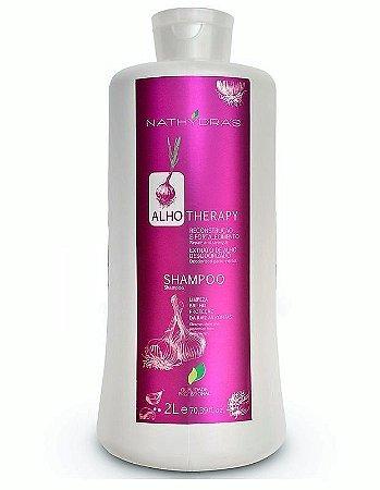 MSA Nathydra`s Shampoo Reconstrução e Fortalecimento Alho - 2 L