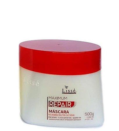 Lissé Máscara Cabelos Danificados 500gr Maximum Repair Recharge