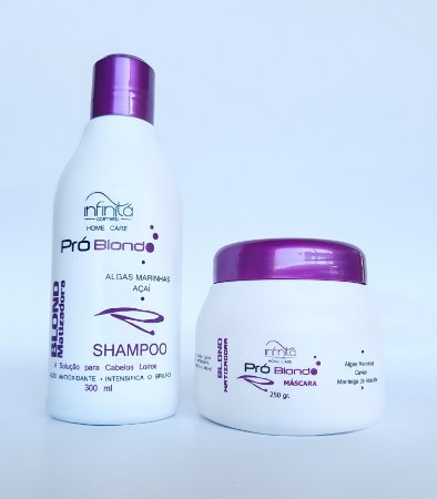 Pró Blond Infinitá Kit Matizador Home Care