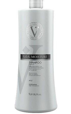 Varcare SOS Moisture Shampoo Com Óleos e Coconut   Profissional