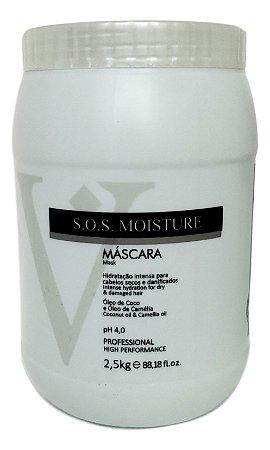 Varcare Máscara Moisture SOS 2,5Kg Vip Line Collection