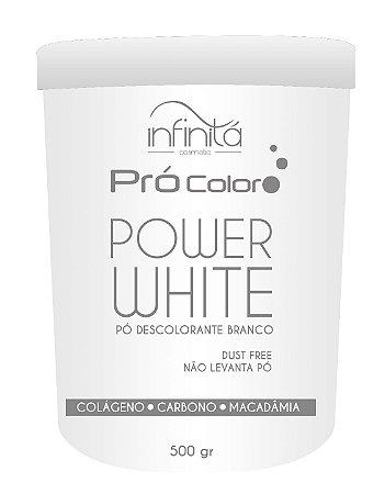 Infinitá  Power white Pó Descolorante Branco 500gr