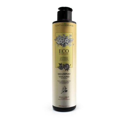 Nathydras  Eco Ilumindor Shampoo Vegano Chá Branco e Camomila