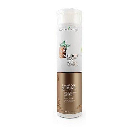 Nathydras Shampoo Nutritivo Coco Therapy Hidratação e Nutrição
