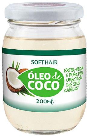 Soft Hair Óleo de Coco  Extra Virgem e Puro Para Umectação