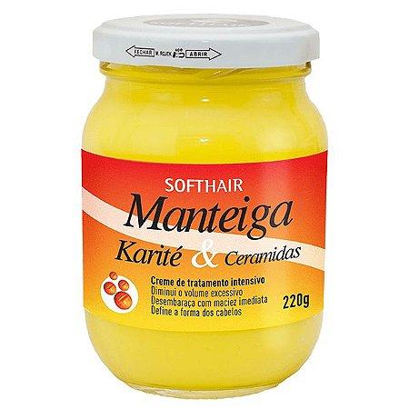 Soft Hair Manteiga Karité e Ceramidas Define a Forma e Desembaraça