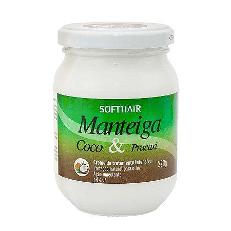 Soft Hair Manteiga Coco e Pracaxi Proteção e Ação Umectante