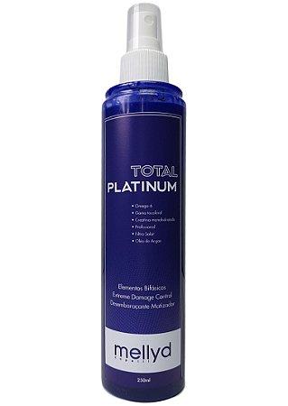 Mellyd Total Platinum Recondicionador Bifásico Matiza e Platina 250 mL