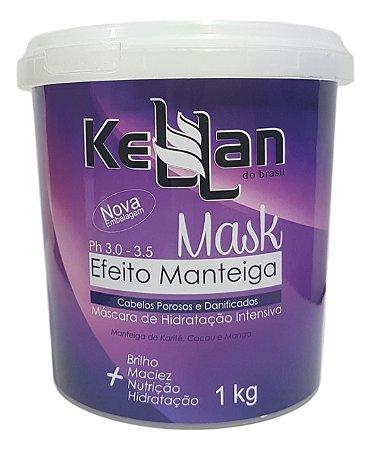 Kellan do Brasil Máscara Efeito Manteiga 1kg