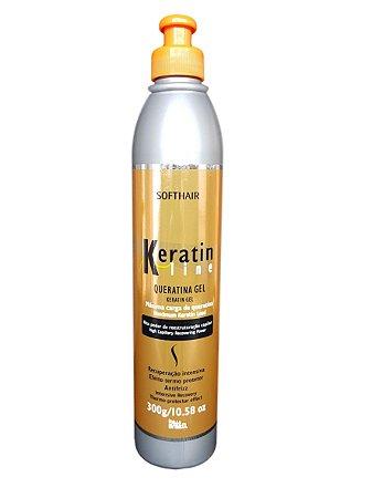 SoftHair Keratin Line Queratina em Gel Efeito Termo Protetor 300gr
