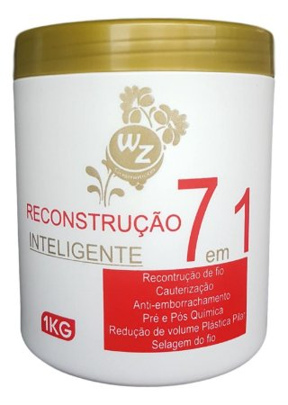 WZ Cosméticos Reconstrução Inteligente 7 em 1