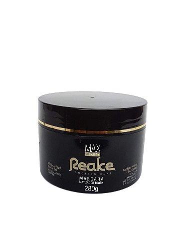 Max Beauty Realce Profissional Matizador Black 280gr