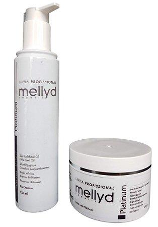 Mellyd Color Care Kit Platinum shampoo e Mascara
