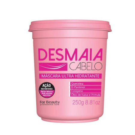 Mascara Desmaia Cabelo For Beauty Ultra Hidratante 250gr