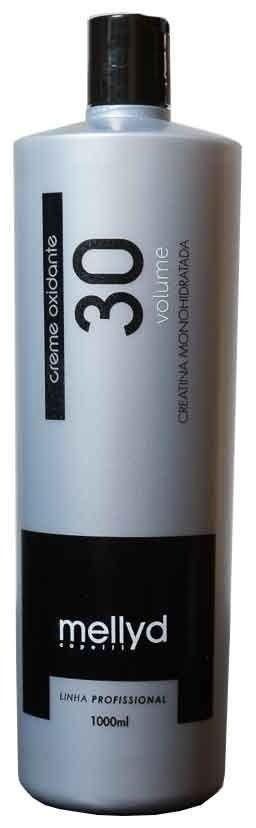 Mellyd Capelli Água Oxigenada 30 Volumes Creme Oxidante
