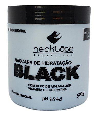 Necklace Máscara de Hidratação Black Ativador de Tons Preto