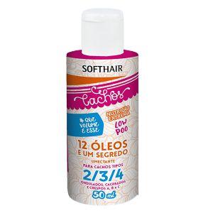 SoftHair 12 Óleos e um Segredo Umectante para Cachos Tipo 2/3/4