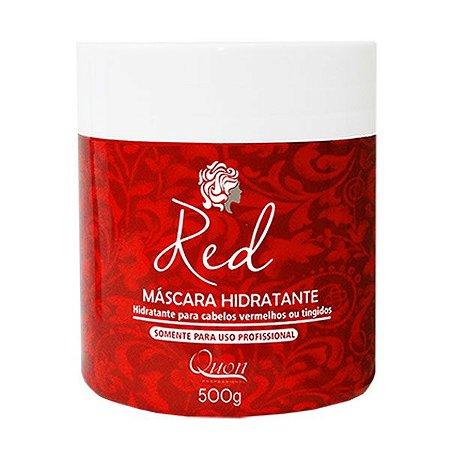 Quon Red Máscara Hidratante Tonalizante Para Cabelos Vermelhos