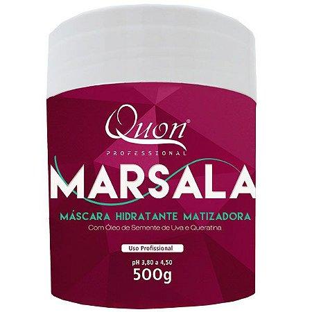 Quon Marsala Máscara Hidratante Matizadora 500g