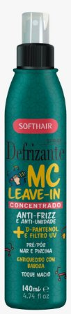 Softhair Spray Defrizante MC Leave-in Concentrado Com Babosa 140mL