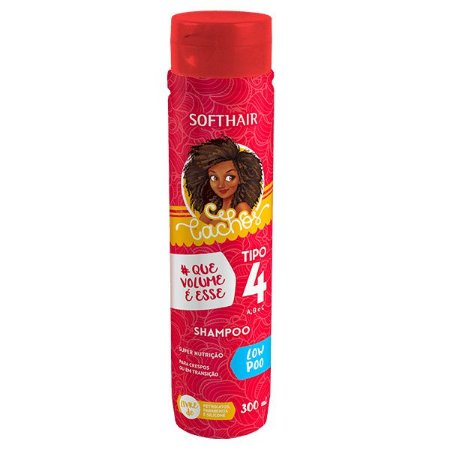 Shampoo Cachos Tipo 4 abc Low Poo Softhair