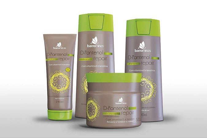 Barrominas D-Pantenol Repair Kit Hidratação Redução Pontas Duplas