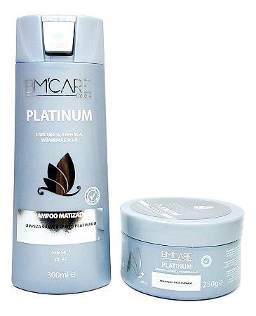 Barrominas Platinum Shampoo e Máscara BMCARE Color