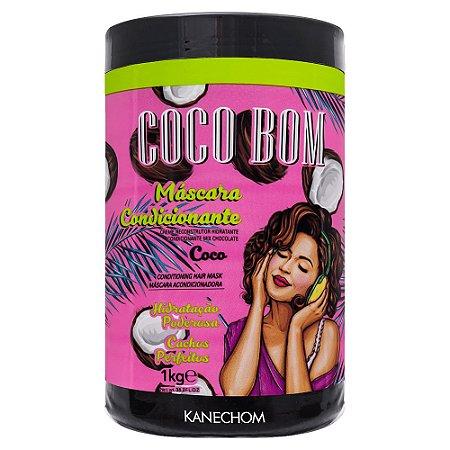 Kanechom Coco Bom Máscara Condicionante Hidratação Poderosa 1kg