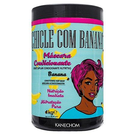 Kanechom Chiclé Com Banana Máscara Condicionante Nutrição Imediata