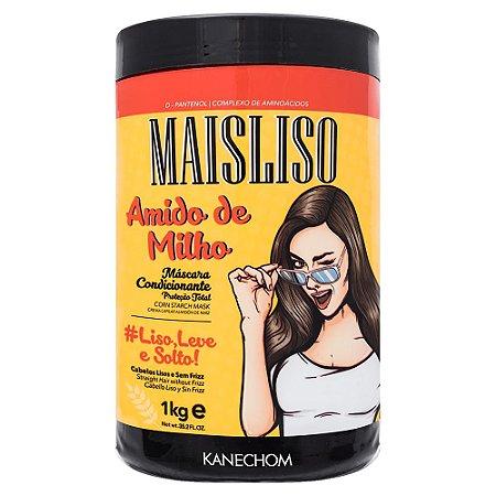 Kanechom MaisLiso Amido de Milho Máscara Condicionante Liso 1kg