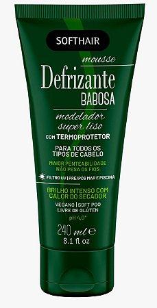 Softhair Mousse Defrizante Babosa Termoprotetor 240mL