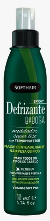 Softhair Spray Defrizante Babosa Termoprotetor 140mL