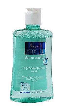 Nupill Derme Control Loção Adstringente Facial Remove Impurezas 200mL