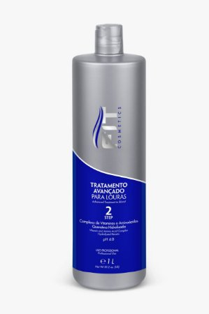 Fit Cosmetics Tratamento Avançado Para Louras Step2 Progressiva Profissional 1L