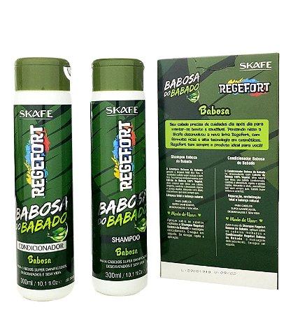 Regefort Babosa do Babado Skafe Kit Shampoo e Condicionador
