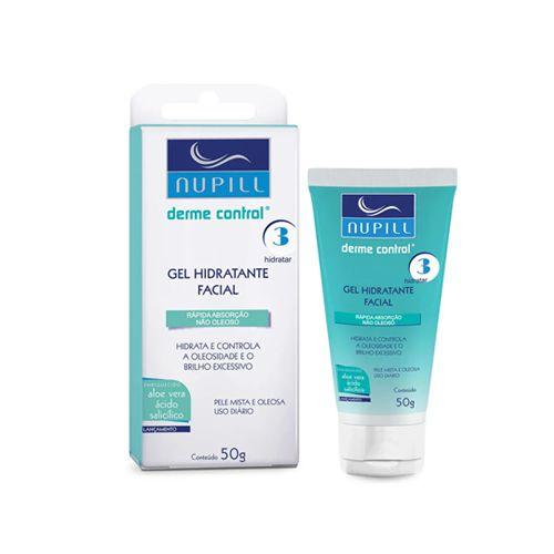 Nupill Derme Control Gel Hidratante Facial 50g