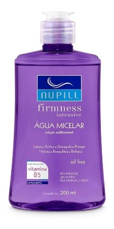 Água Micelar Nupill Firness Intensive 200mL