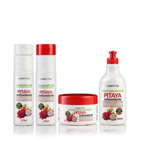 Hair Fly Protenção Intensiva Pitaya Antioxidante kit Completo