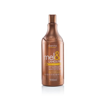 Hair Fly Mel e Lanolina Condicionador Neutralizante Perfect Liss Profissional