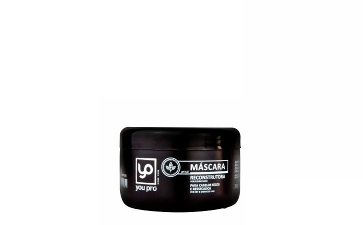 You Pro Máscara Reconstrutora Home Care 250g