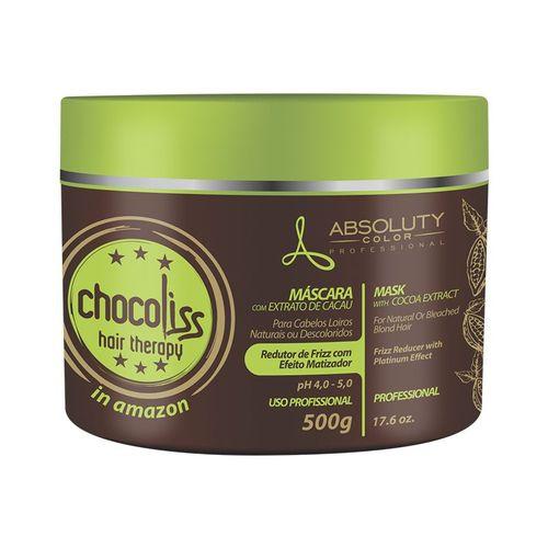 Chocoliss Hair Therapy  Absoluty Color Máscara Redutor de Frizz Matizadora 500g