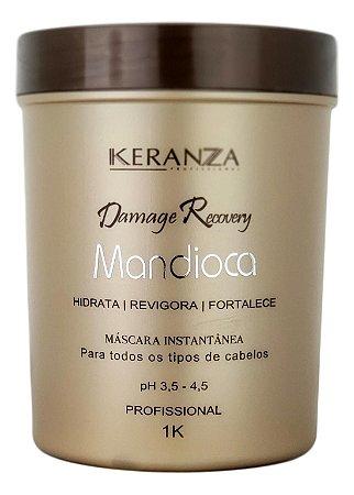 Keranza Demage Recovery Máscara Mandioca Profissional 1kg