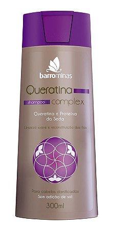 Shampoo Queratina Complex Barrominas Para Cabelo Danificado E Quebradiço