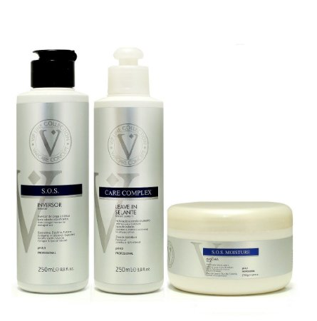Varcare Concept Kit Home Care  Inversor Leave-In E Máscara