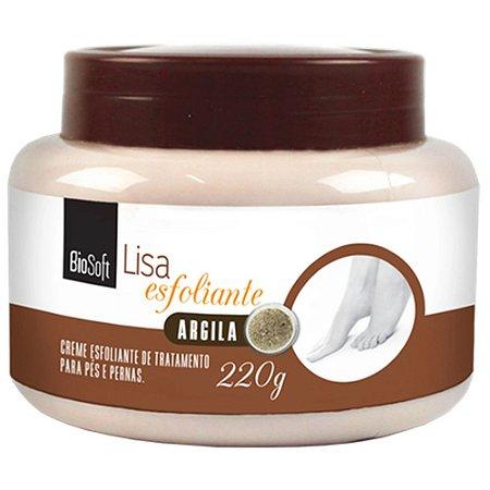 Creme Esfoliante de Tratamento para Pés e Pernas Argila Bio Soft 220g