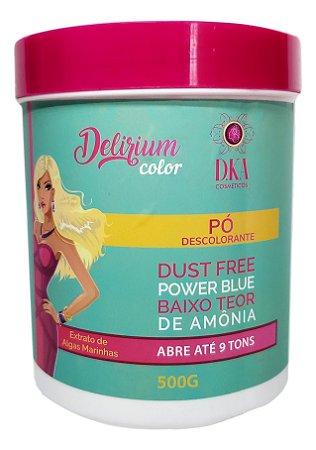 Delirium Color Pó Descolorante Dust Free D.KA Cosméticos 500g