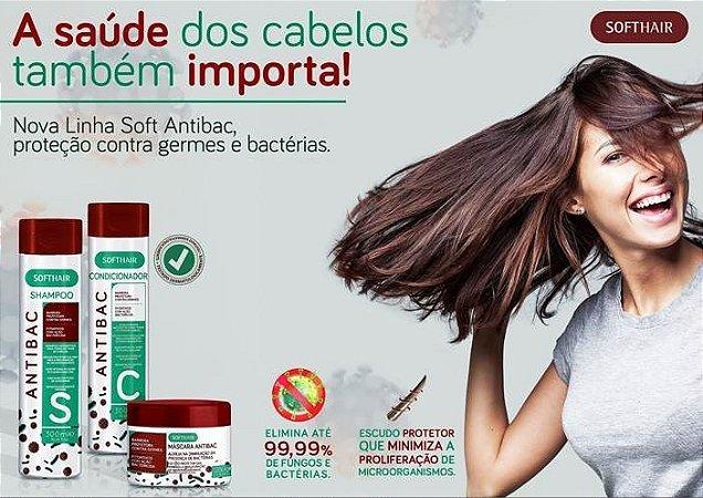 Soft hair Linha Antibac Proteção Contra Germes E Bactérias