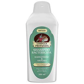Shampoo Antisséptico Limpeza Profunda Super Proteção Softhair Com Barbatimão E Aroeira